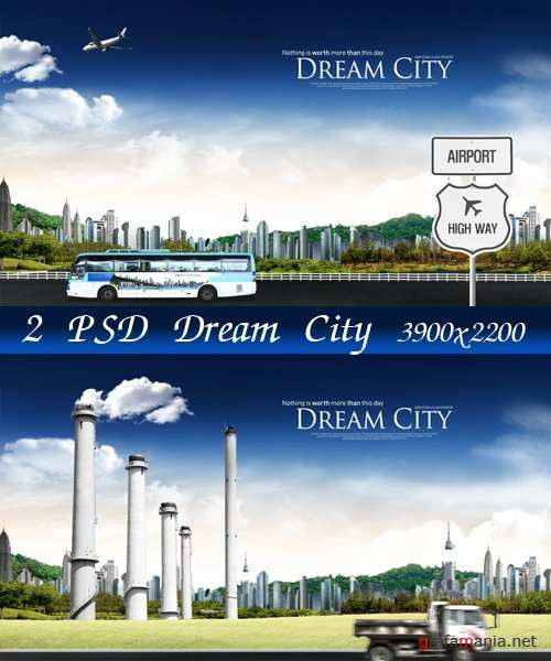 Dream City - psd