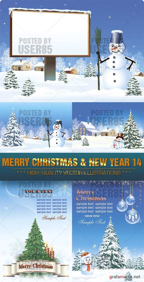 MERRY CHRISTMAS & NEW YEAR 14