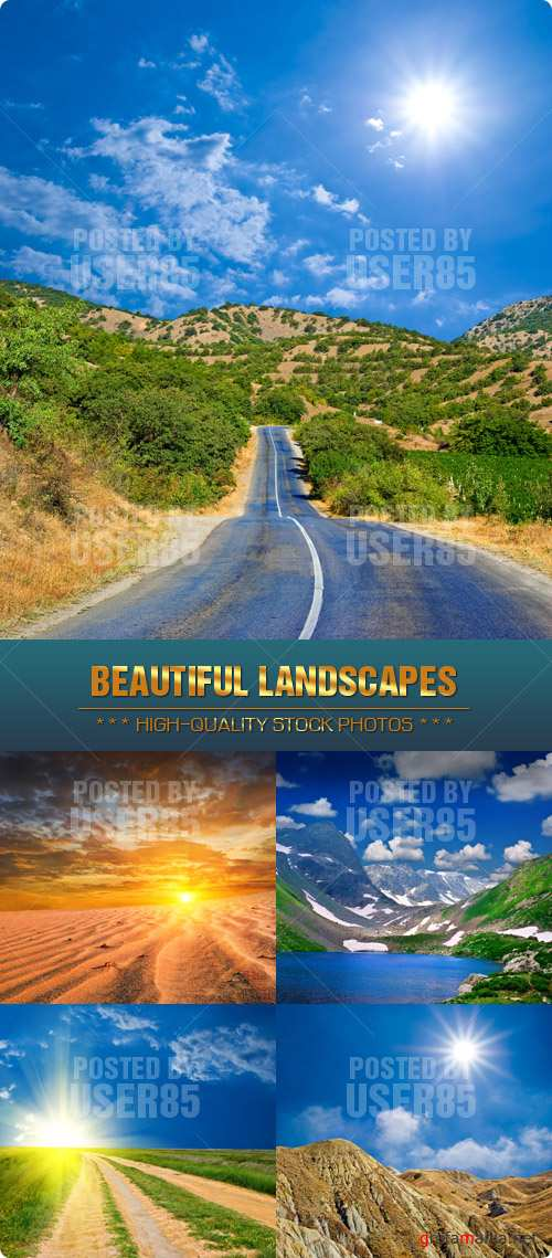 Stock Photo - Beautiful Landscapes