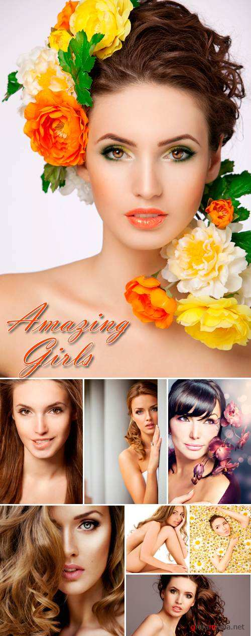 Stock Photo - Amazing Girls
