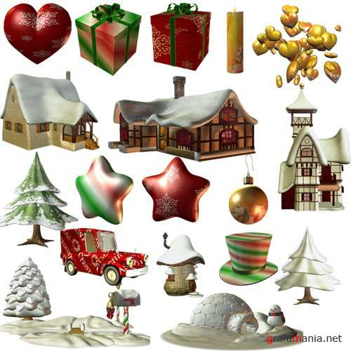 Клипарт – New X Mas Stuff3