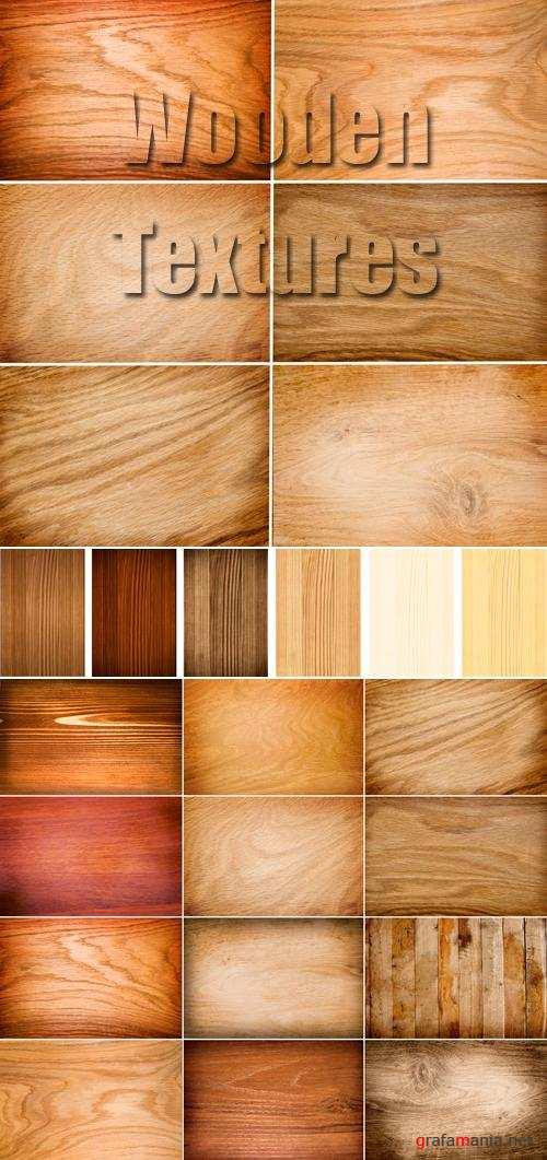 Stock Photo - Wooden Textures 2