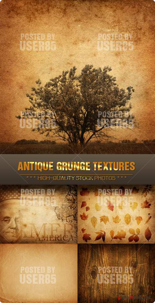 Stock Photo - Antique Grunge Textures