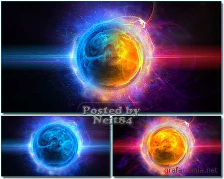 VideoHive motion Flame stars