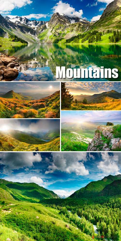 Stock Photo - Mountain Landscapes