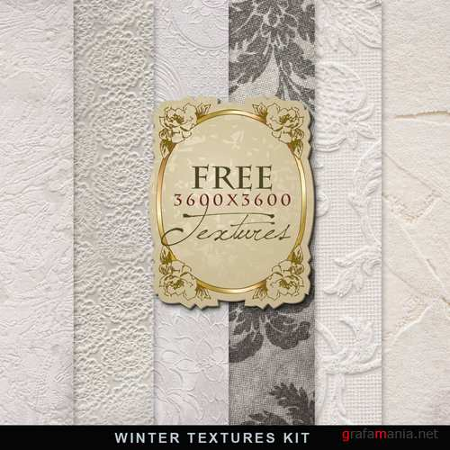 Фон – Winter Textures Kit