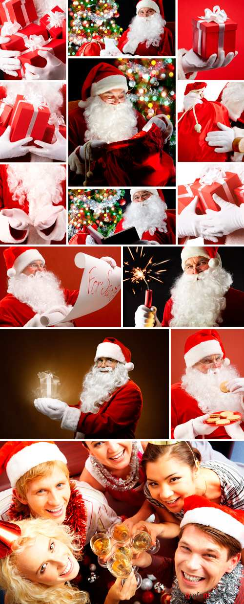 Stock Photo - Santa Claus 2