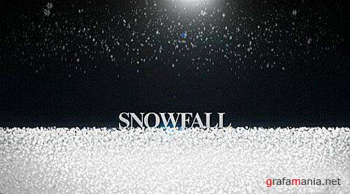 After Effects Project Snow Fall