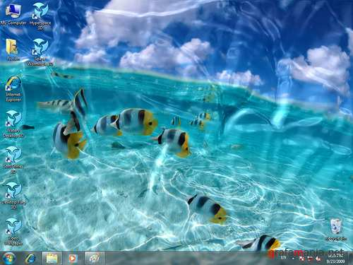 Watery Desktop 3D ScreenSaver v3.5.2.0 Portable