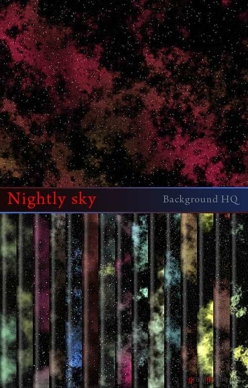 Nightly sky - Background HQ