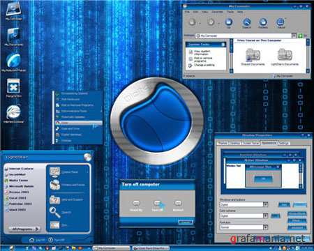 Digital Theme for Windows XP