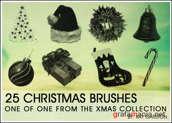 Christmass Brush Collection