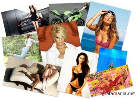 70 Mixed HD Girls Colorful HQ Wallpapers