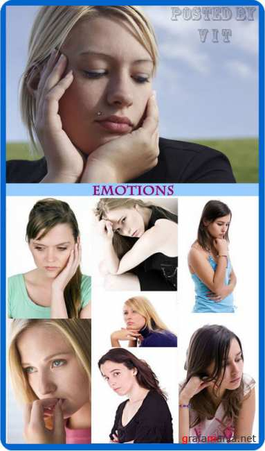 Look at Female Emotions (sadness)