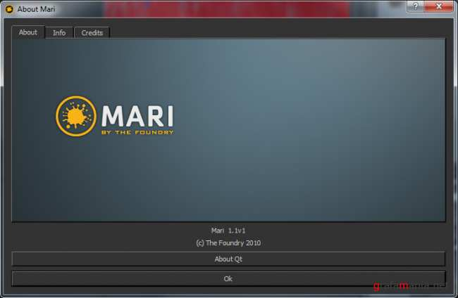 The Foundry Mari 1.1.1 x64 English. � ��������� Tutorials, Textures, Animated Sequences (2010)