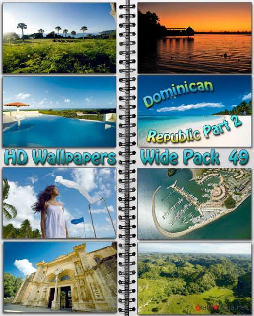 HD Wallpapers Wide Pack №49 - Dominican Republic Part 2