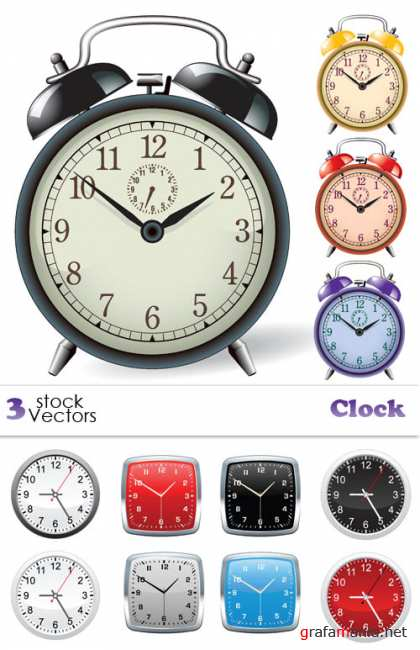Stock Vectors - Clock