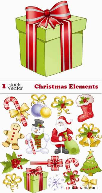 Stock Vector - Christmas Elements