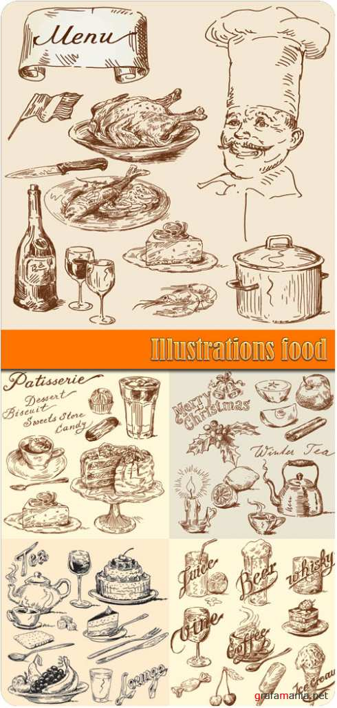 Illustrations food