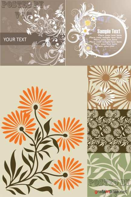 Floral Backgrounds 92