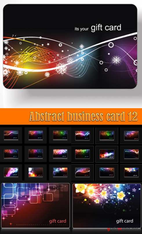 Abstract business card 12