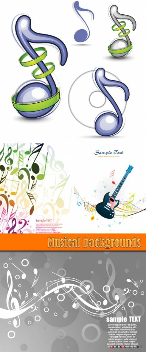 Musical backgrounds