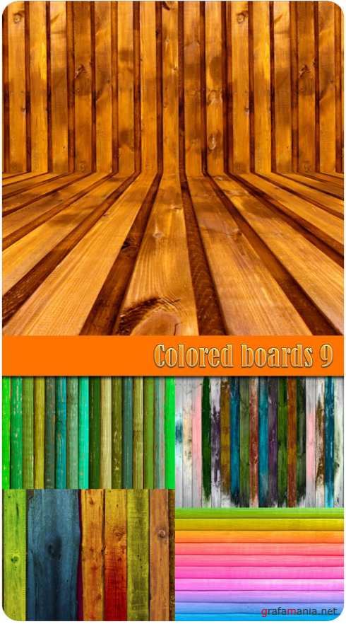 Colored boards 9