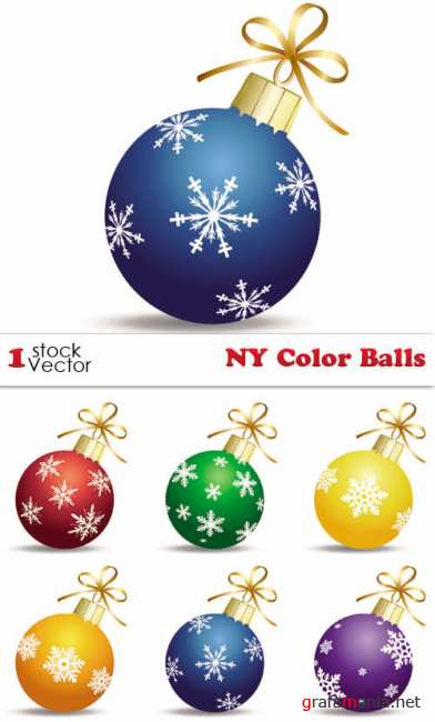 NY Color Balls Vector