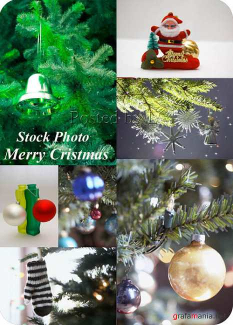 Stock Photo - Merry Cristmas