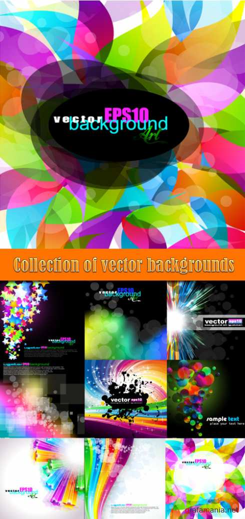 Collection of vector backgrounds