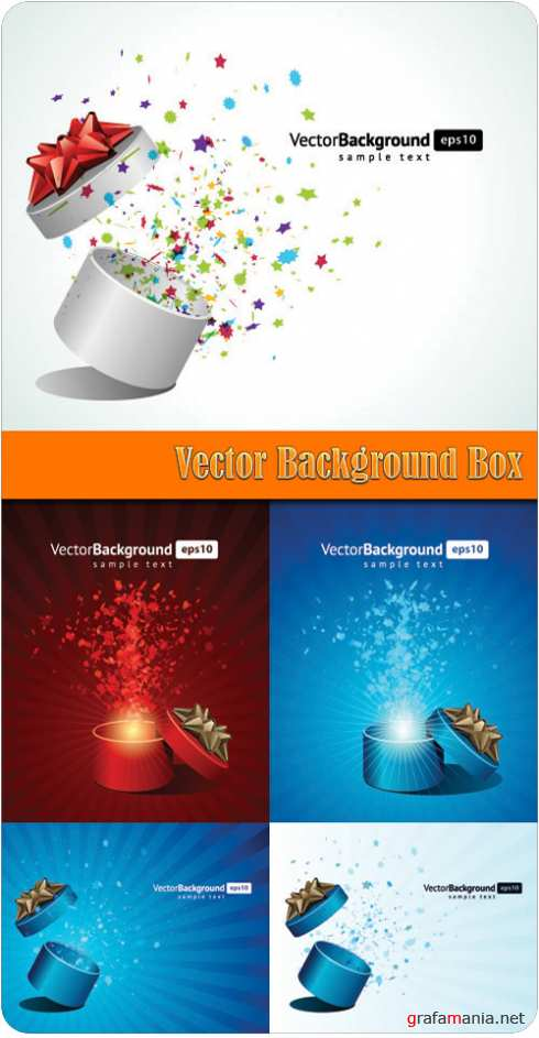 Vector Background Box