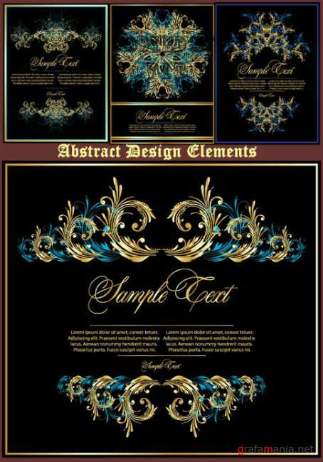 Abstract Design Elements 28