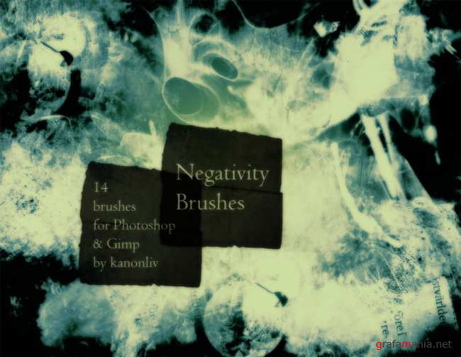 Negativity Brushes by kanonliv