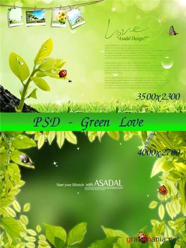 Green Nature PSD