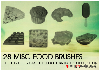 Food brush collection