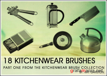 Kitchenwear brush collection