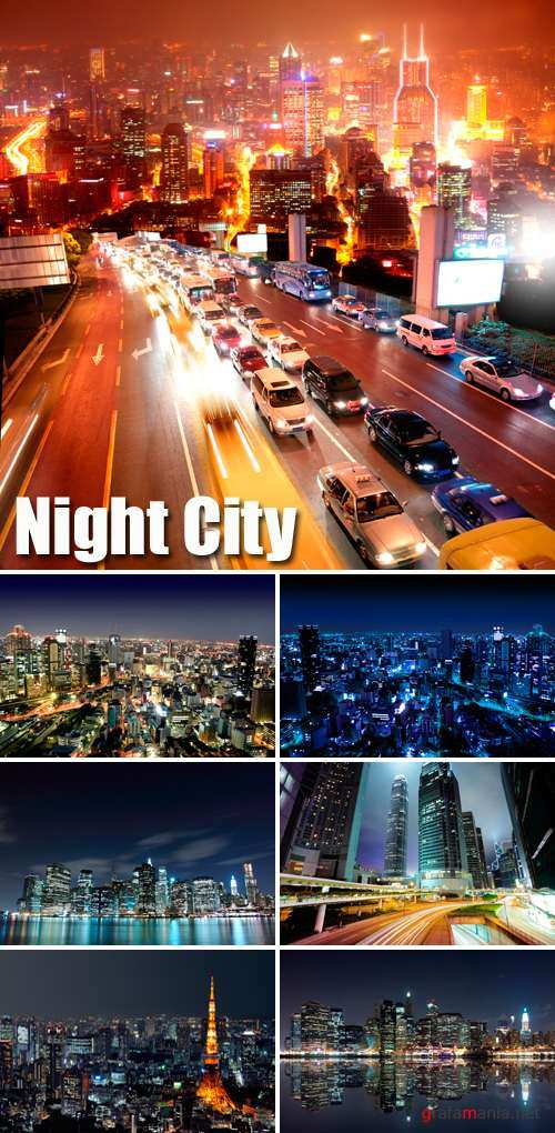 Stock Photo - Night City