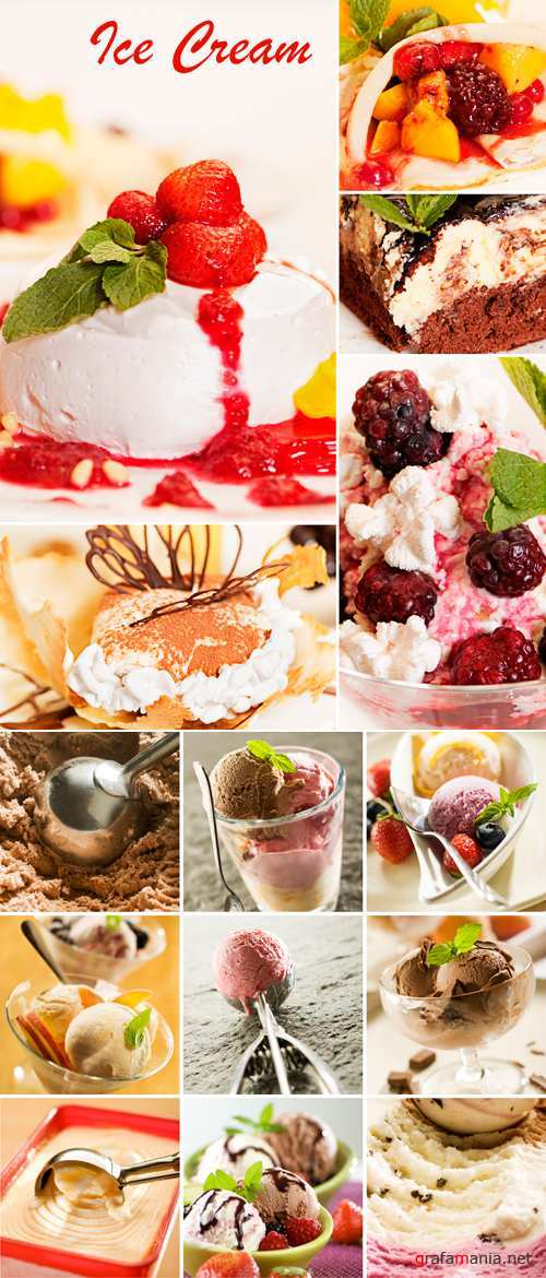 Stock Photo - Ice Cream Collage