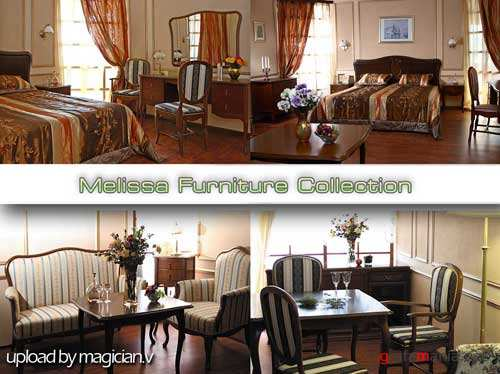 3D models of Melissa Furniture