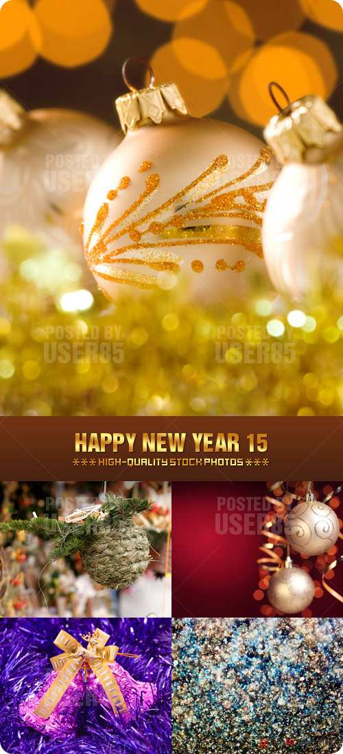 Stock Photo - Happy New Year 15