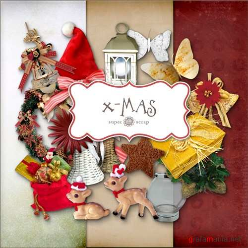 Christmas decorations - scrap