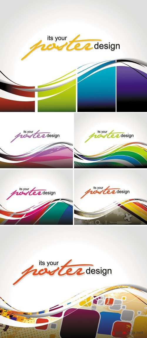 Posters Design Vector