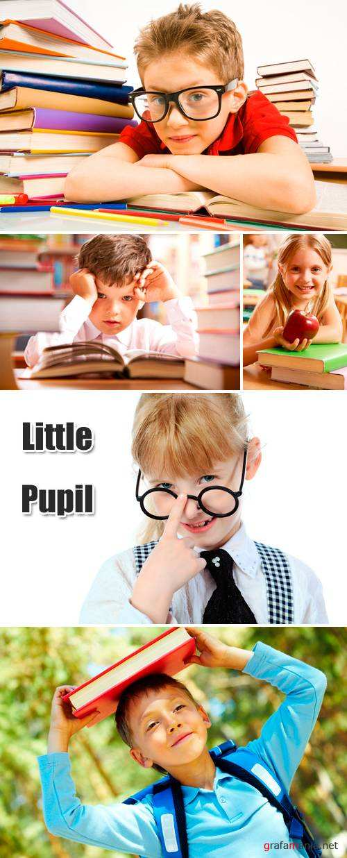 Stock Photo - Little Pupil