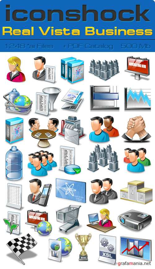 IconShok - Real Vista Business Illustrator Sources