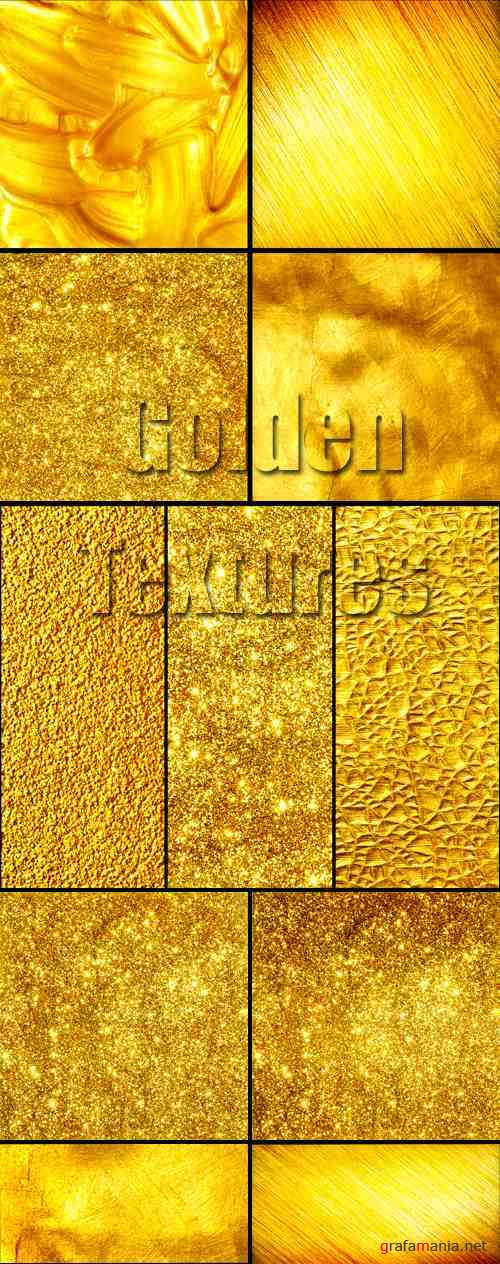 Stock Photo - Golden Textures 2