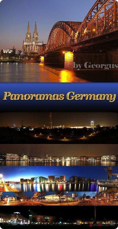 Panorama of German cities