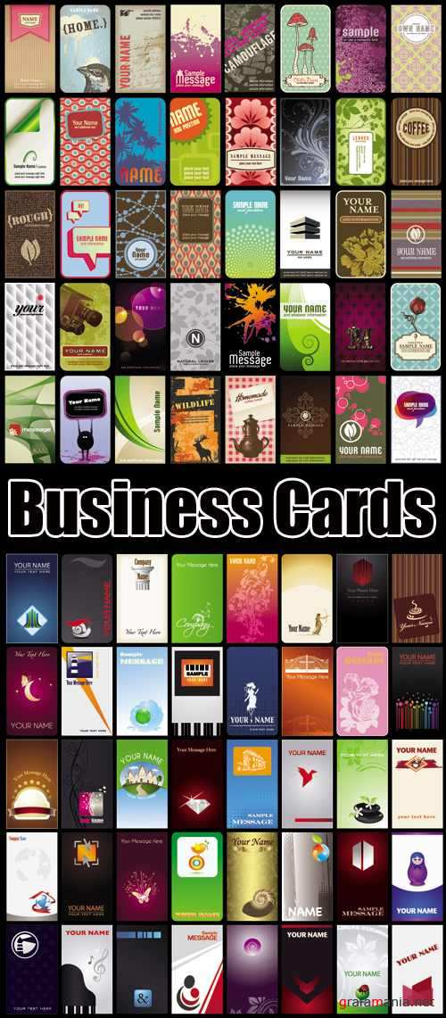 Business Cards Vector 2