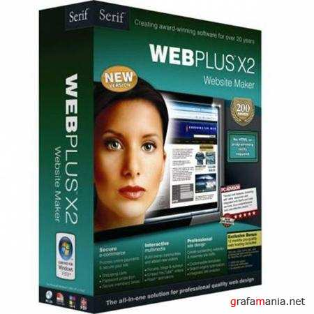 Serif WebPlus X2 Website Maker