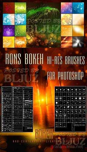 Кисти - Rons Bokeh Brushes for Photoshop