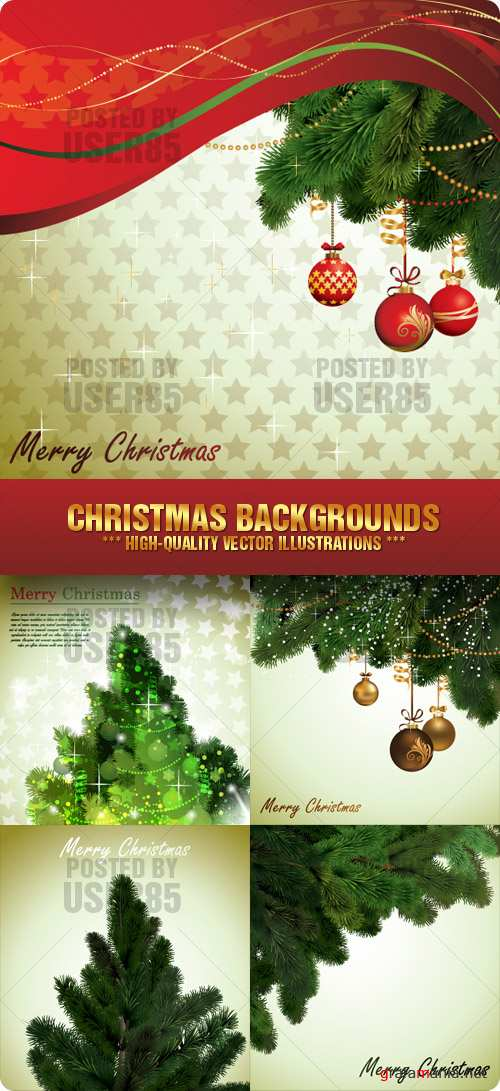 Stock Vector - Christmas Backgrounds